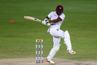 Darren Bravo scored a fourth innings century for the West Indies. Photo /Getty