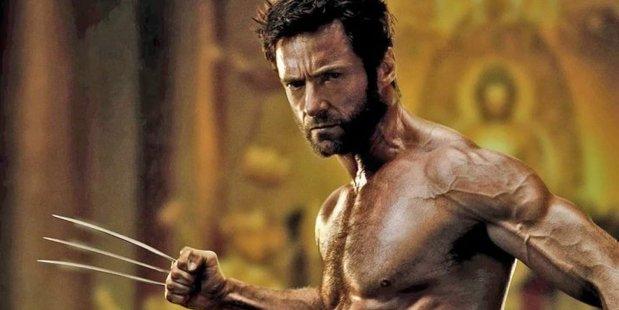 Loading Hugh Jackman as Marvel's Wolverine.