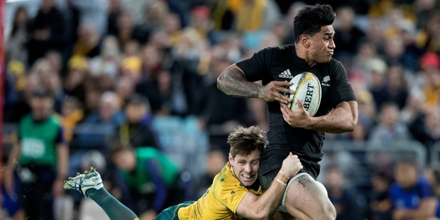 Loading Malakai Fekitoa has faced more competition for his place in the All Black backline than expected. Photo / Brett Phibbs