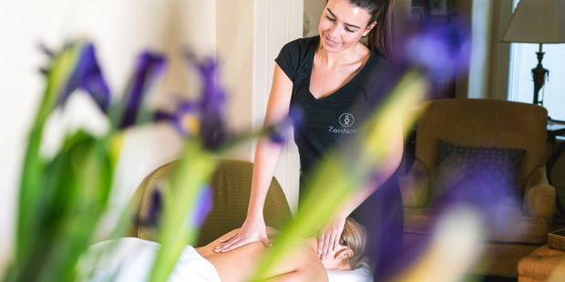 ZenNow promises massages on demand while tidying up the industry's dirty reputation. Photo / ZenNow