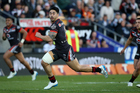 Warriors halve Shaun Johnson isn't scared to take a pay cut if it means the club is successful in winning an NRL premiership. Photo / Photosport