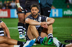 Kiwis captain Jesse Bromwich looks dejected after a loss to Australia. Photo / Photosport