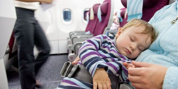 Dannielle Michaels was running out of hands, and patience in the aeroplane cubicle. Photo / 123RF