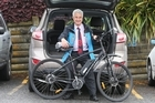 Tauranga Mayor Greg Brownless will be taking part in a Tour of Tauranga bike ride to raise money for the Bay of Plenty Multiple Sclerosis Society.