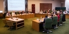 Watch: Steve Chadwick opens first council meeting for new term