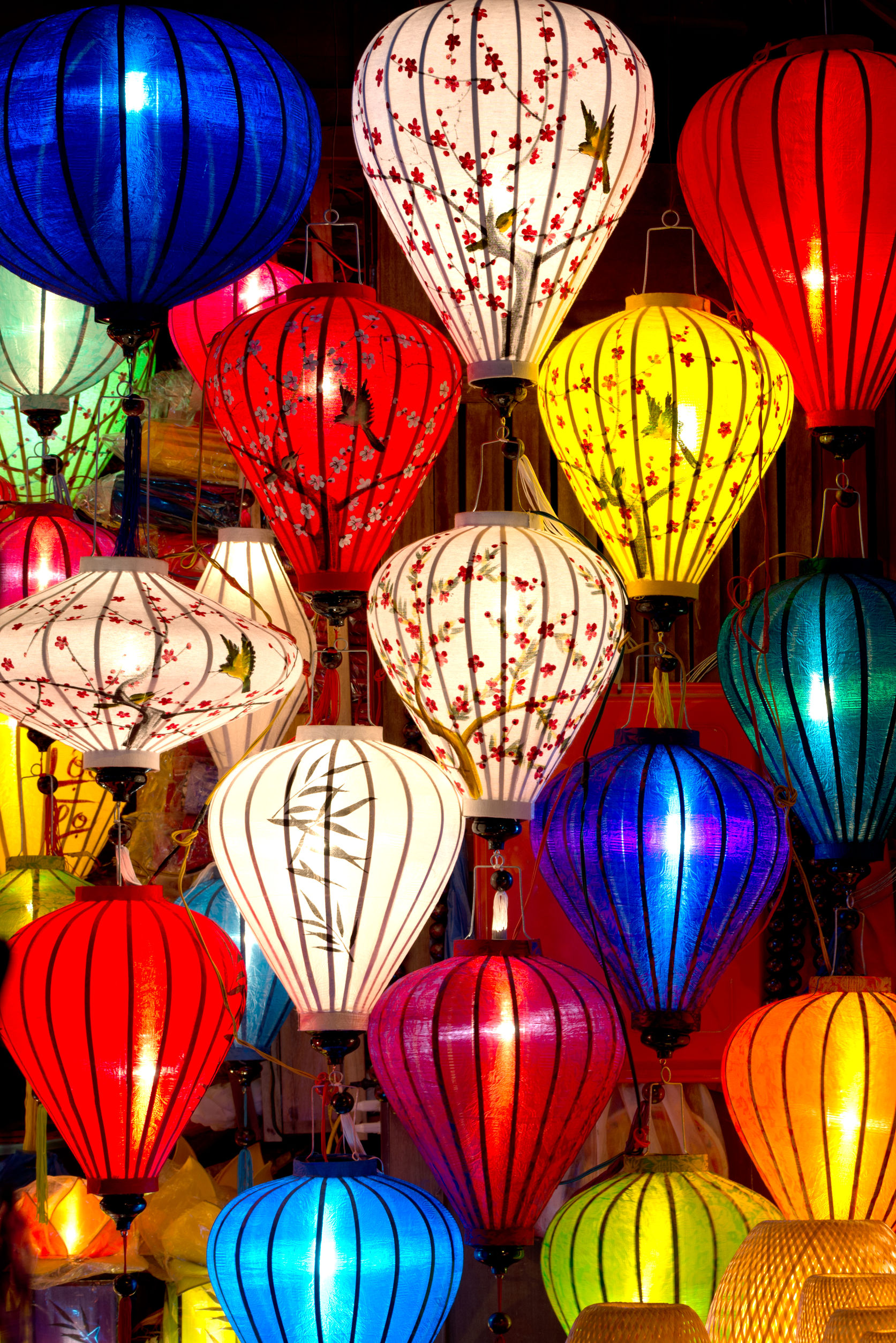 Lanterns in the beautiful Vietnamese city of Hoi An. Photo / 123RF