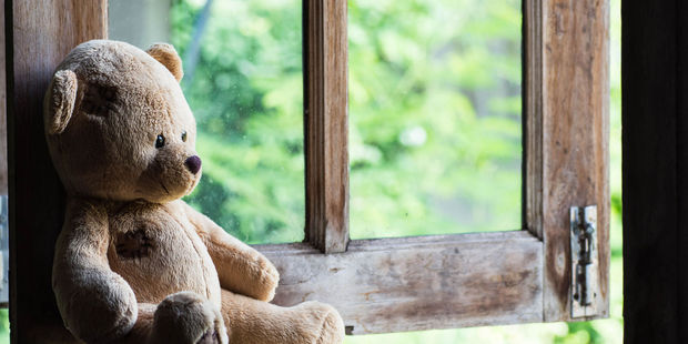 A toddler who died in a house fire was found with his dog and teddy bear next to him. Photo / 123rf.com