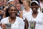 Serena and Venus Williams will be the star attractions in Auckland. Photo / AP