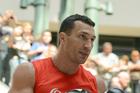 Wladimir Klitschko will not fight British boxer Anthony Joshua. Photo / Photosport