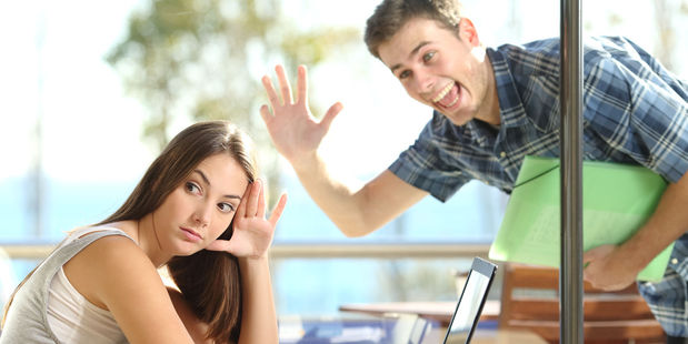 """Equally, women said that """"surprise"""" visits are creepy when you tell a man you can't meet with them. Photo / 123RF"""