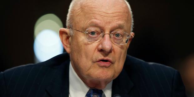 US National Intelligence Director James Clapper. Photo / AP