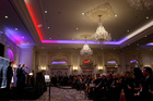 Republican presidential candidate Donald Trump speaks during the grand opening of the Trump International Hotel in Washington. Photo / AP