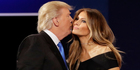 Melania Trump's support of her husband Donald Trump is unwavering. Photo / AP