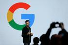 Google CEO Sundar Pichai. Photo / AP