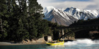 Jetboat safaris with Discovery Jet in the Rakaia Gorge, Canterbury. Photo / Doug Sherring