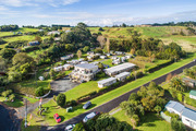 Big Bay Holiday Park is on Awhitu Peninsula, on the southern side of Manukau Harbour.