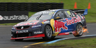 Kiwi Shane van Gisbergen and Alex Premat of France have become the first international pairing to claim the Supercars' Enduro Cup. Photo / Photosport