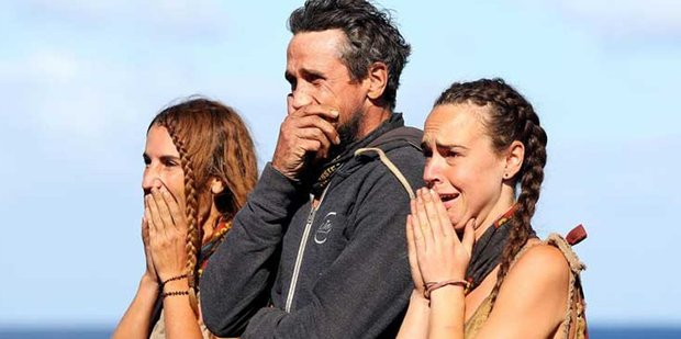Lee, El and Kristie from Survivor Australia competed in one of the reality show's toughest challenges yet.