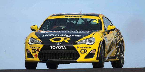 Drew Ridge's current Australian race car. Photo / Supplied