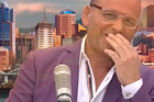 Paul Henry's travel advice got a little long winded during his stint on breakfast tv this week.