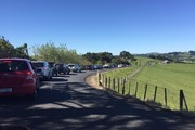 """Traffic is """"still really heavy"""" south of Auckland after a fatal crash on the Southern Motorway overnight. Photo / Supplied"""