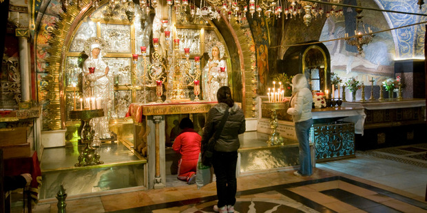 The Church of the Holy Sepulchre in the Old City of Jerusalem. Photo / Getty Images