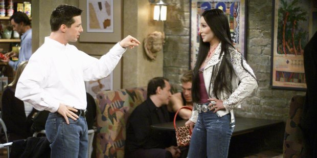 Sean Hayes as Jack McFarland, Cher as herself on Will & Grace show. Photo / Getty