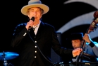 Bob Dylan performs on stage during Hop Farm Festival at Hop Farm Family Park on June 30, 2012 in Paddock Wood, United Kingdom.Photo / Getty