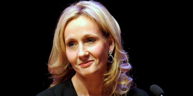 Author J.K. Rowling September 27, 2012 in London, England. Photo / Getty