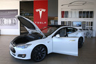 A Tesla Model S car is displayed at a Tesla showroom on November 5, 2013 in Palo Alto, California. Photo / Getty