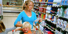 """A mother said she was """"mortified"""" and """"embarrassed"""" after a fellow shopper told her off for her children's rudeness and bad language. Photo / Getty"""