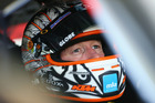 Greg Murphy sits in his car prior to practice ahead of the Sandown 500. Photo / Getty Images