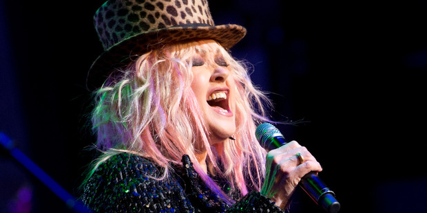 Cyndi Lauper performs in New York City. Photo / Getty