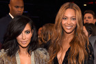 TV personality Kim Kardashian West and singer, Beyonce. Photo / Getty Images