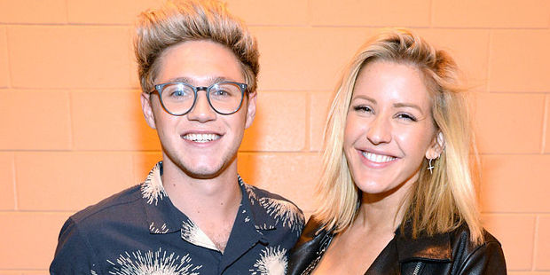 Singers Niall Horan and Ellie Goulding dated in 2014. Photo / Getty Images
