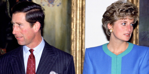 Prince Charles with Diana in 1991. Photo / Getty Images