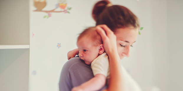 The struggles of early motherhood can also be overlooked or minimized. Photo / Getty
