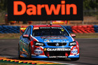 Jason Bright during V8 Supercars practice ahead of the Darwin Triple Crown. Photo / Getty Images