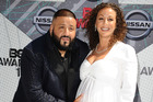 DJ Khaled and Nicole Tuck attend the 2016 BET Awards at Microsoft Theater on June 26, 2016 in Los Angeles, California. Photo / Getty