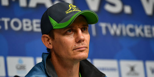 Wallabies assistant coach Stephen Larkham has confirmed he will leave the Brumbies next season. Photo / Getty Images