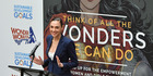 Actress Gal Gadot speaks at the Wonder Woman UN Ambassador Ceremony at United Nations on October 21, 2016 in New York City. Photo / Getty