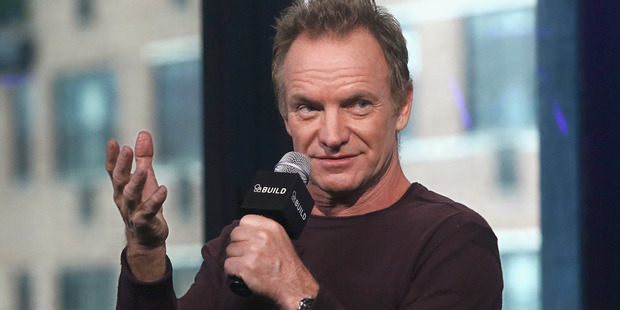 Singer/songwriter Sting talks about how he made his fame and fortune. Photo / Getty
