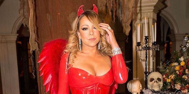 Mariah Carey at her Halloween Party in Los Angeles, California. Photo / Getty Images
