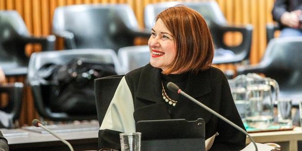 IN: Sandra Hazlehurst is Hastings' new deputy mayor. PHOTO PAUL TAYLOR