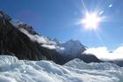 A perfect day of Franz Josef Glacier. Photo / Justine Tyerman