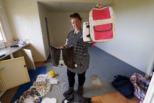 Mould and dampness has been a problem for Cherie Cullen and her family. Photo / John Stone