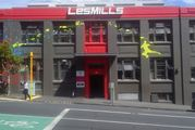 The man was working as a crossfit instructor at Les Mills Victoria Park when he fell 2.7m from a fire escape in September 2015. Photo / Google