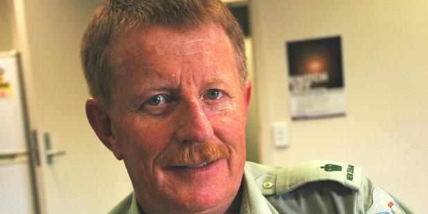 Major Mac McColl. Photo: Supplied
