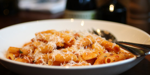 Connolly will be donating $15 from each Penne all'Amatricana sold today. Photo / Supplied.