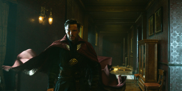 Benedict Cumberbatch stars as Doctor Stephen Strange in the film Doctor Strange. Photo / Marvel